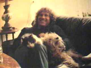 Me and my pets, in '96