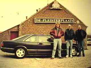 In Kessel near Venlo, with Peter, took picture, Jan and Nico
