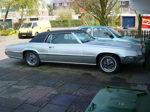 My 1968 Ford Thunderbird, V8 7.02 liter, 360 HP, 650 Nm torque,
